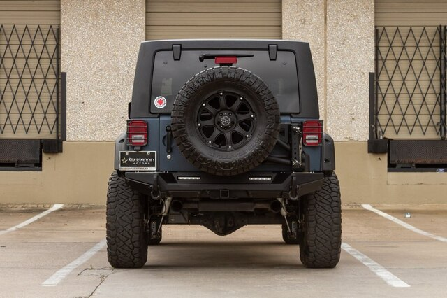 Pre-Owned 2017 Jeep Wrangler Unlimited JK Synergy Lift RIGIDS Magnaflow
