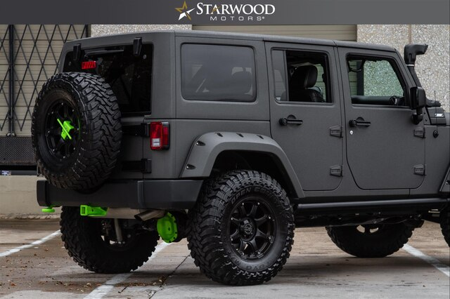 "Pre-Owned 2014 CUSTOM Jeep Wrangler Unlimited ProComp Lift 35"" Tires"
