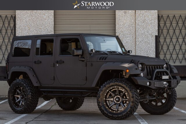 Pre-Owned 2015 CUSTOM Jeep Wrangler Unlimited 3.5