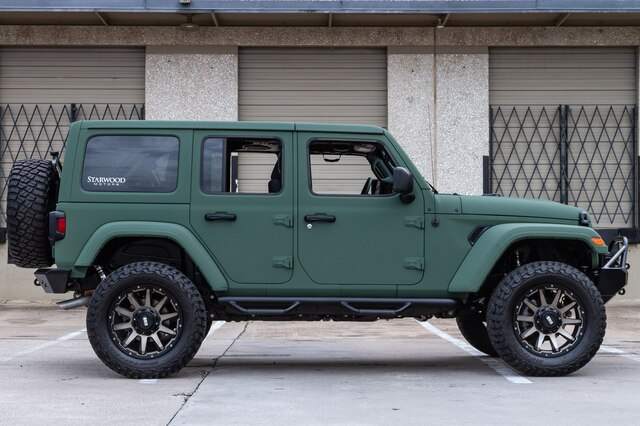Pre-Owned 2019 Jeep Wrangler Unlimited SARGE GREEN Fox Shocks JL
