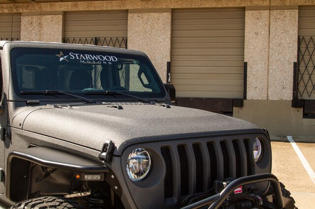 Pre-Owned 2019 Jeep Wrangler Unlimited JL FABTECH STEEL Fenders 8.4
