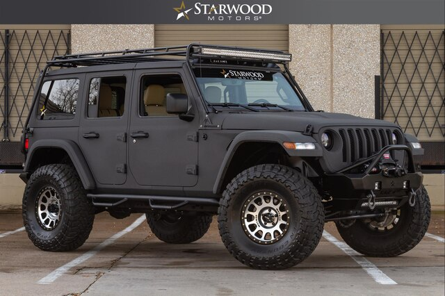 Pre-Owned 2019 CUSTOM Jeep Wrangler Unlimited Rubicon GOBI RACK 37