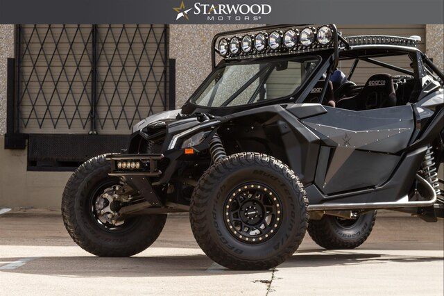 Pre-Owned 2018 CAN AM Maverick X3 Chromoly Cage LONG TRAVEL SUSPENSION Race Ready