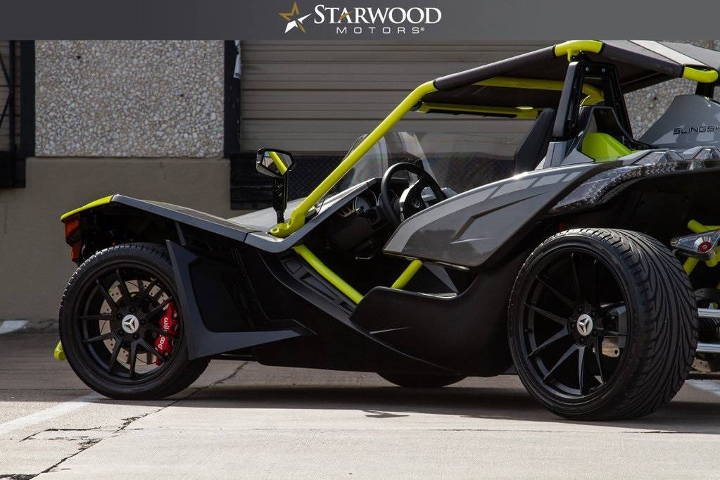 Pre-Owned 2018 Polaris Slingshot SLR LE Bullet Speed Quad